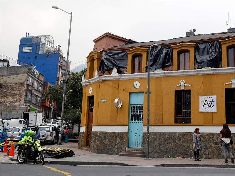 Un día después de la explosión en La Macarena