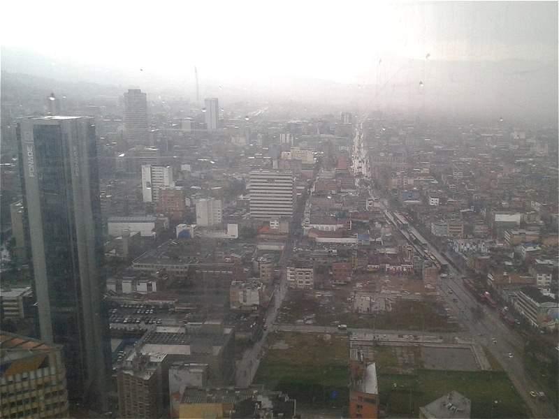 Las imágenes que dejó la granizada del miércoles en Bogotá