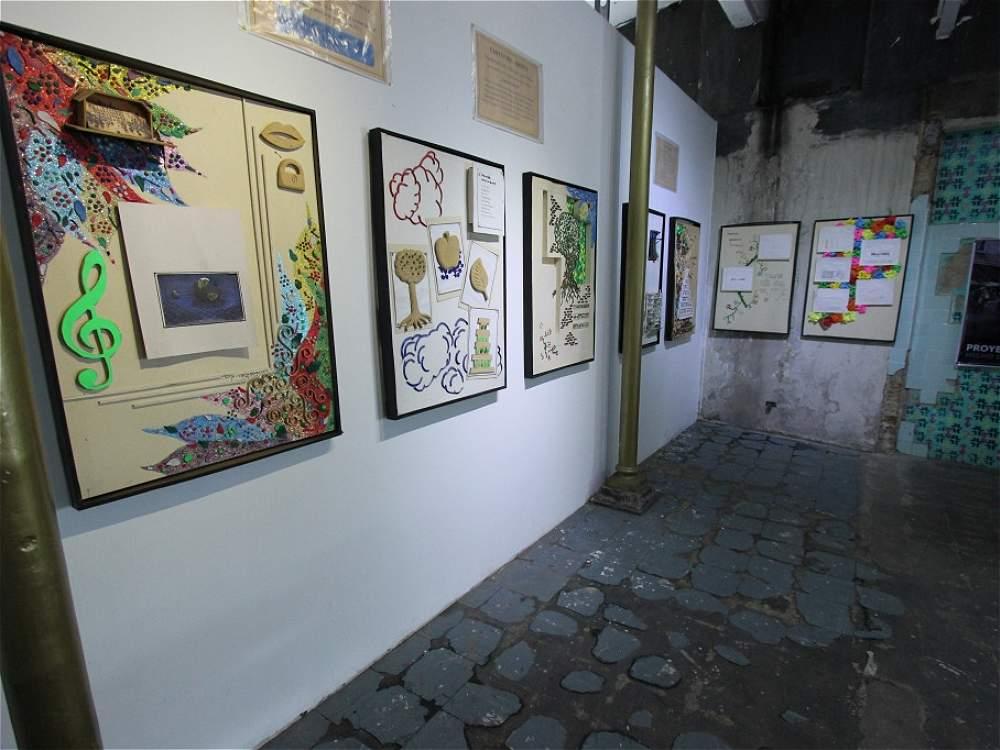 Exposición de exhabitantes de calle