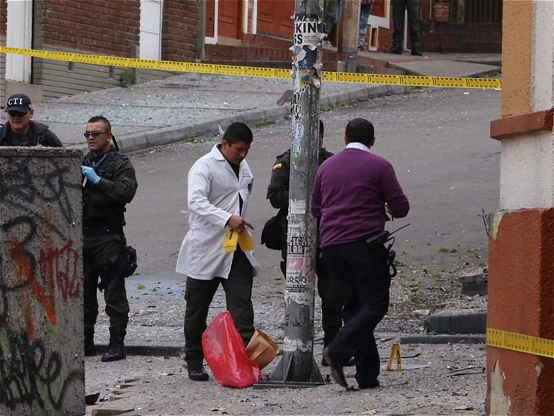 Así fue la detonación controlada cerca a la Plaza de Toros