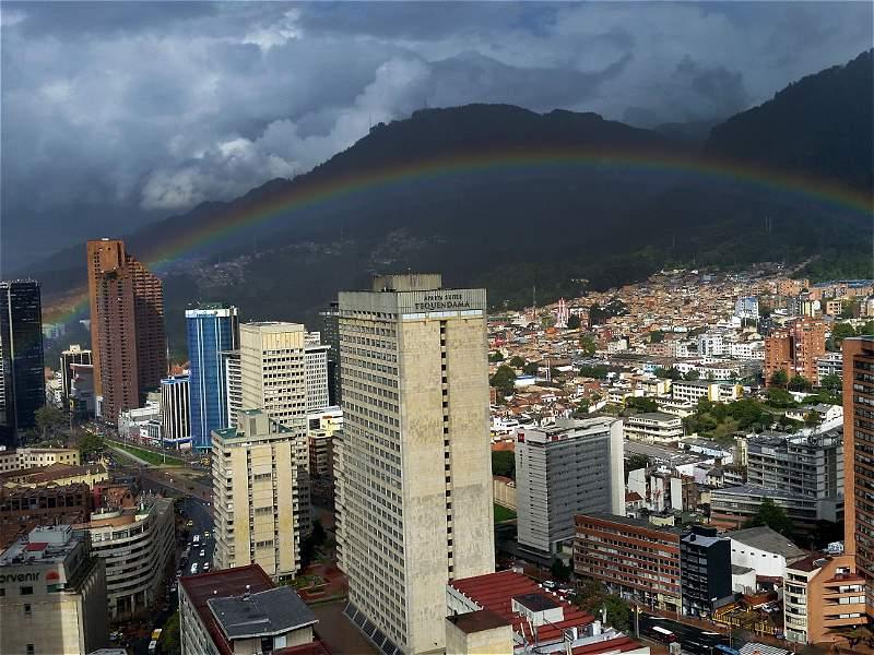 ¿Está loco el clima de Bogotá?