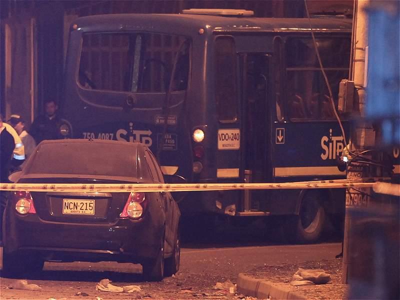 Cinco personas afectadas y daños materiales dejó explosión en Engativá