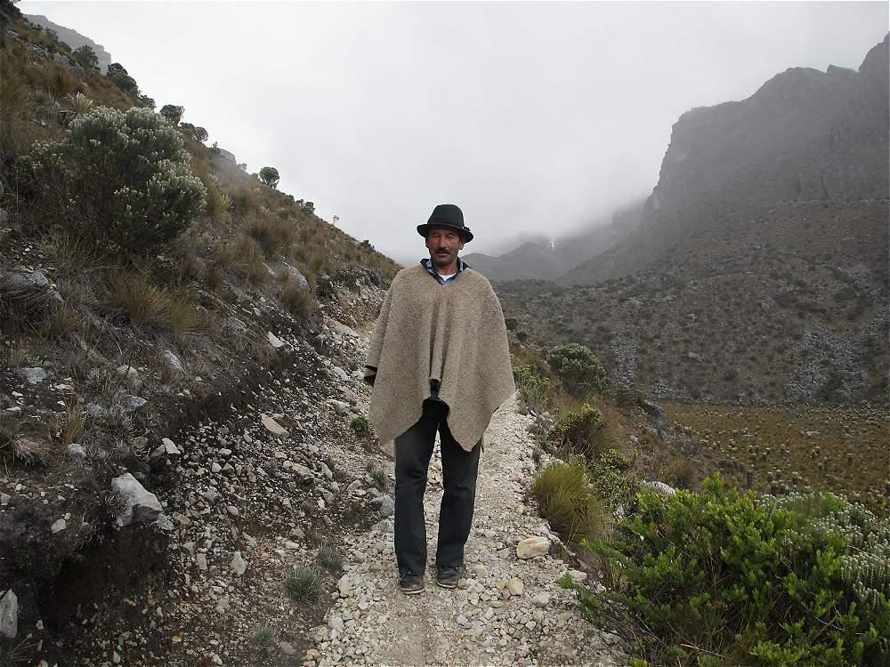 Luis Alejandro Herrera, habitante del Cocuy, ha visto de cerca su deterioro.