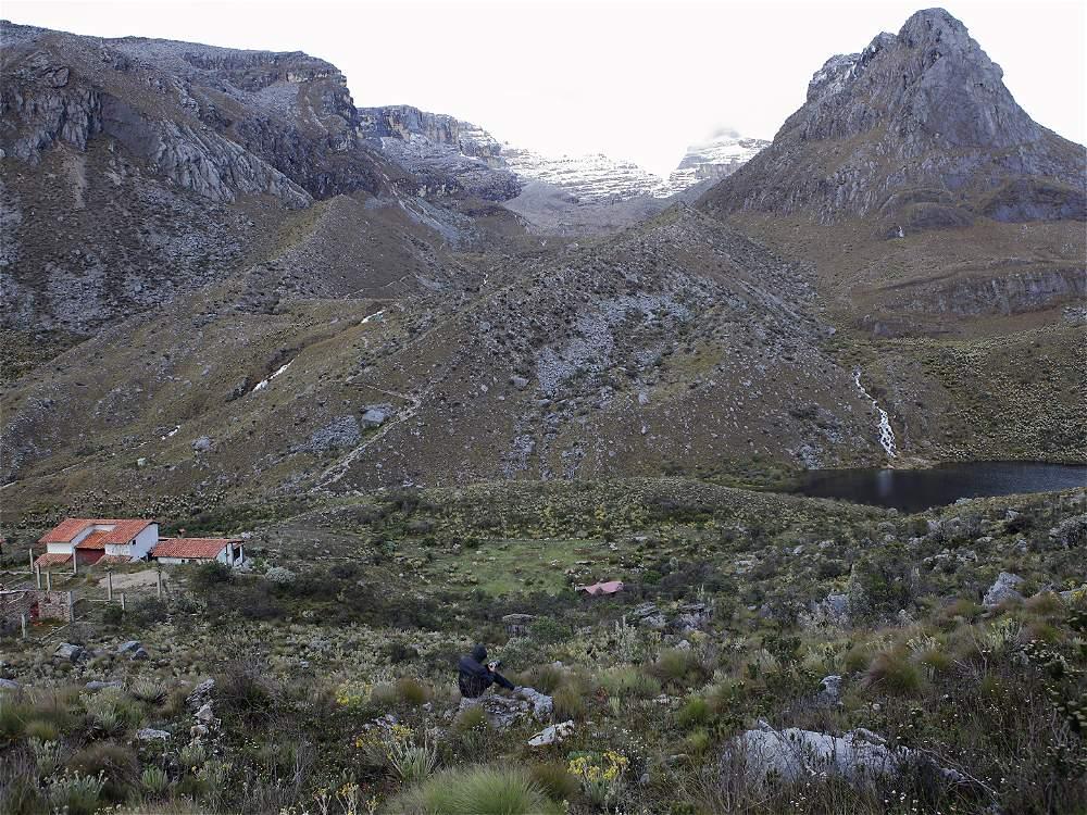 Hace pocos miles de años, todas estas montañas estaban cubiertas por nieve.