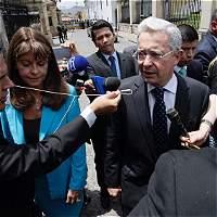 Reunión entre Santos y Uribe por la paz