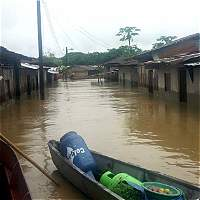Inundaciones en Chocó