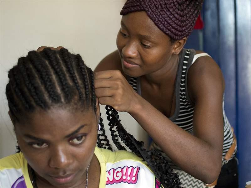 Salón de belleza para preservar peinados tradicionales de San Basilio de Palenque