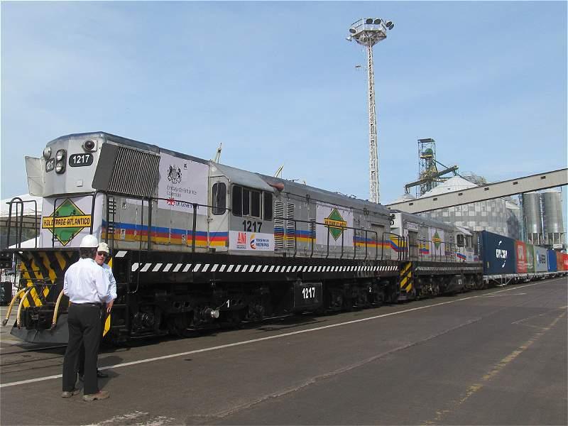Pasaron más de 20 años para que volviera un tren a Barrancabermeja