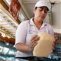 El buñuelo más grande de Colombia