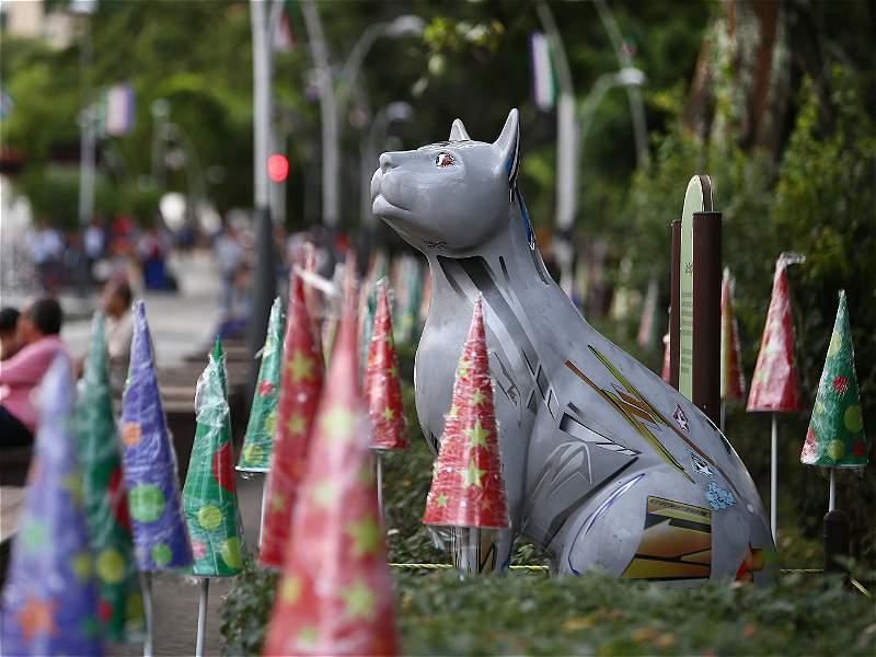 En Medellín, Cali y Barranquilla ya se siente el ambiente navideño