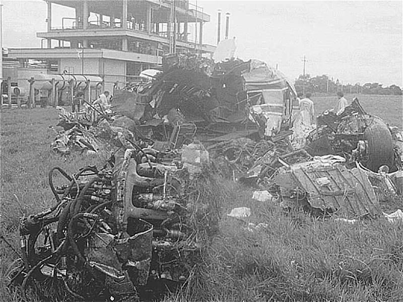 Los accidentes aéreos más graves de la historia de Colombia