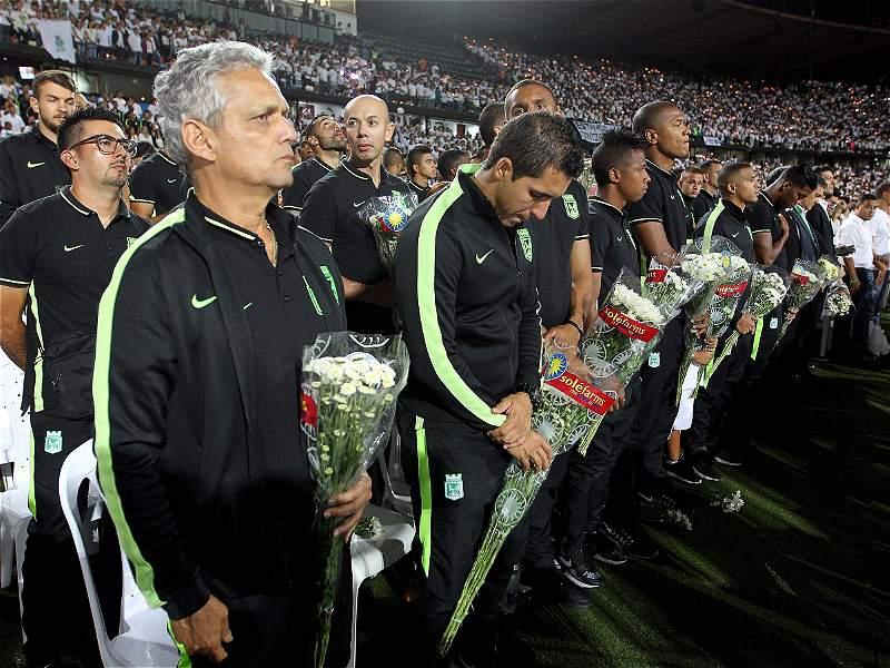 #FuerzaChape: conmovedoras imágenes del partido de fútbol que no pudo ser