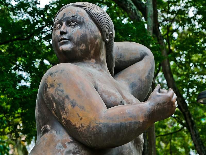 La gorda de Botero que está en Bucaramanga será restaurada