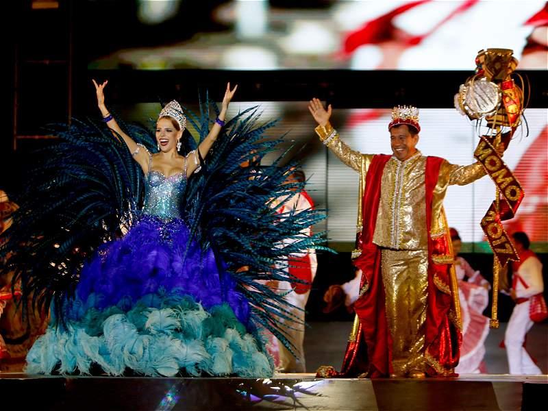Barranquilleros coronaron a los soberanos del Carnaval