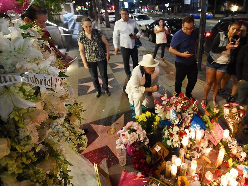 Los restos de Juan Gabriel fueron incinerados y continúan en EE.UU