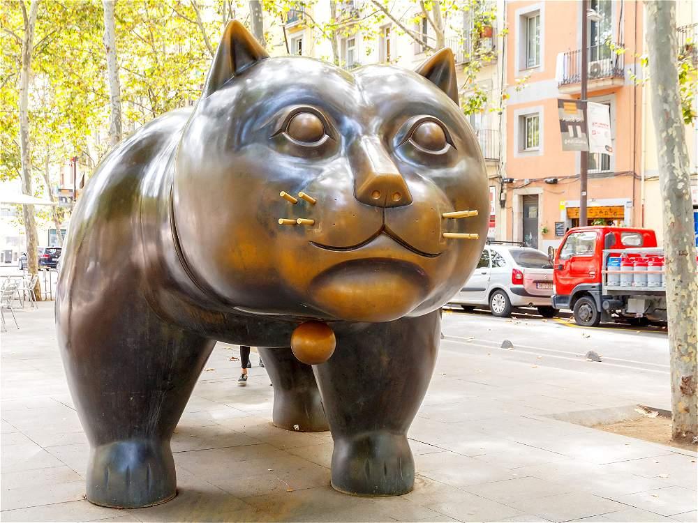 Fotos esculturas m s famosas de fernando botero galer a for El jardin de botero