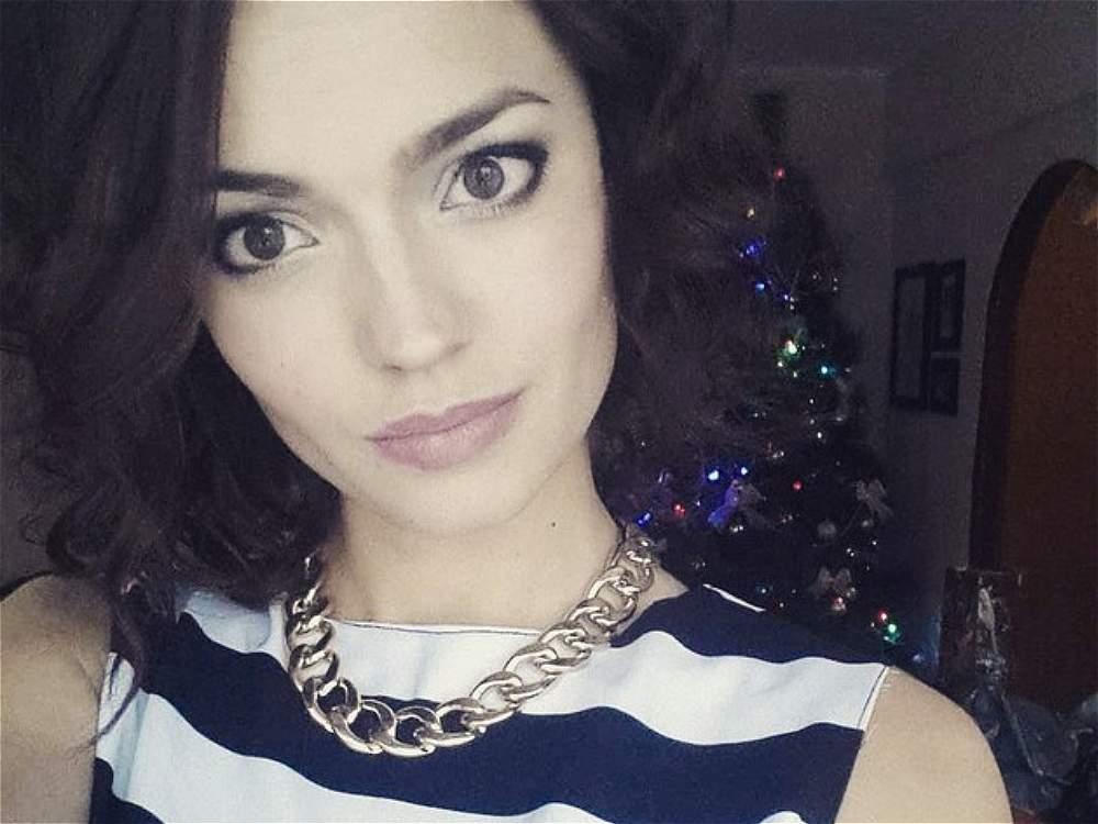 Alena Raeva, la rusa elegida como el 'rostro más bello del mundo'