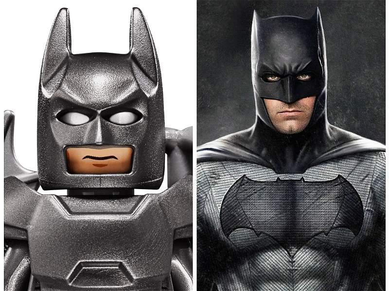 Lego vs. Superhéroes: así se ven estos personajes en sus diferentes versiones