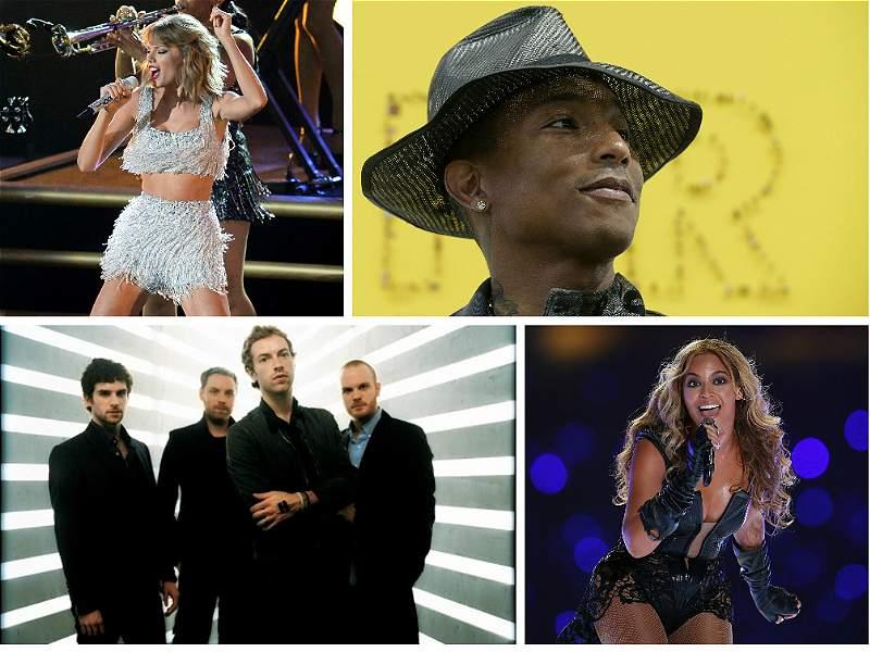 Los artistas que más discos han vendido en lo que va del 2014