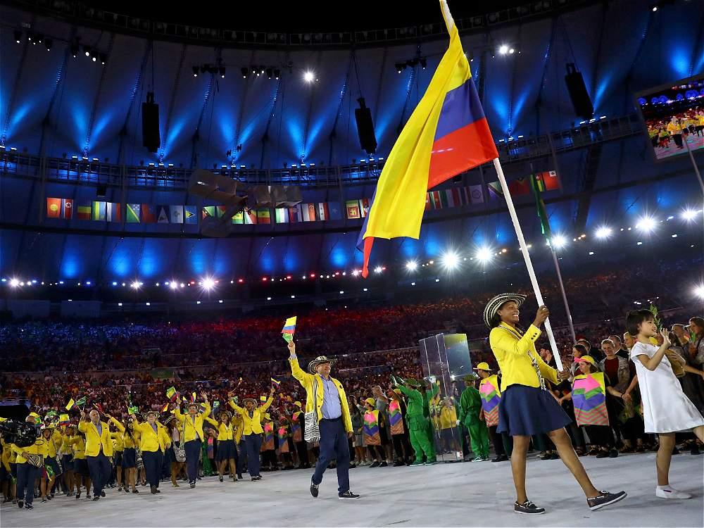 Resultado de imagen para delegación colombiana juegos olimpicos 2016