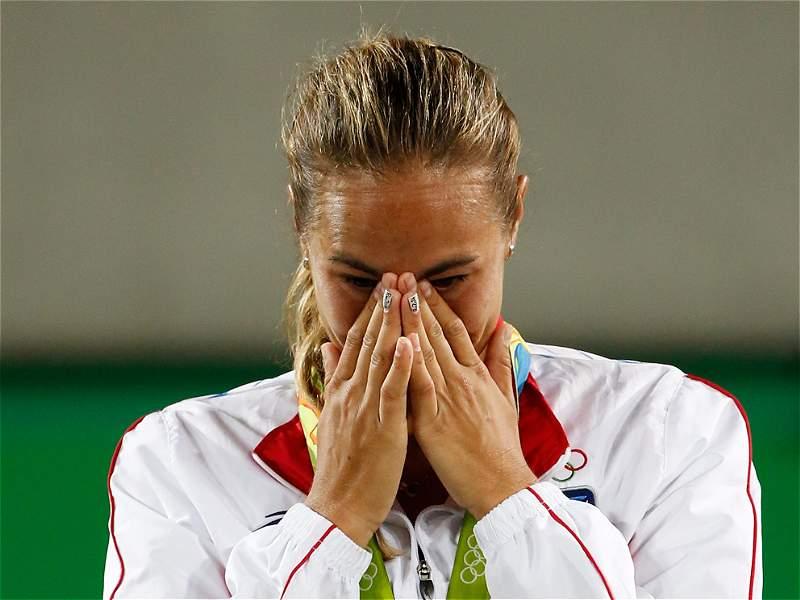 Esta es Mónica Puig, la bella tenista que le dio la primera medalla de oro a Puerto Rico