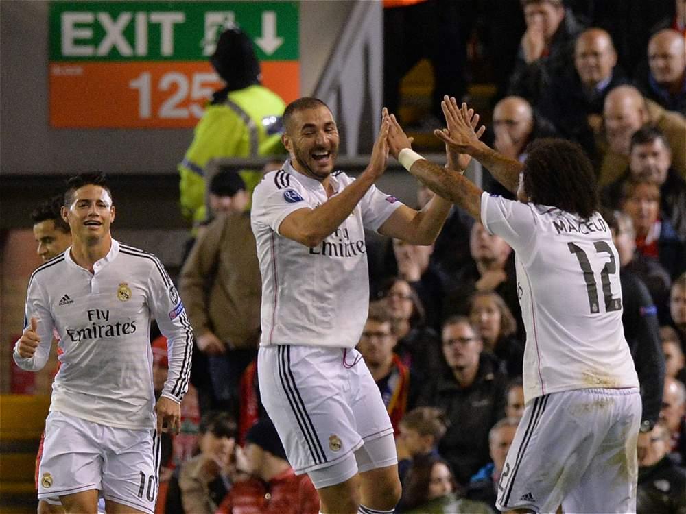 El Real Madrid le gana al Liverpool en Inglaterra