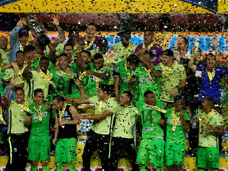 Las mejores imágenes de la final de la Copa Colombia entre Junior y Nacional