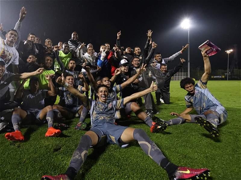 Así festejaron los jugadores de Tigres el ascenso