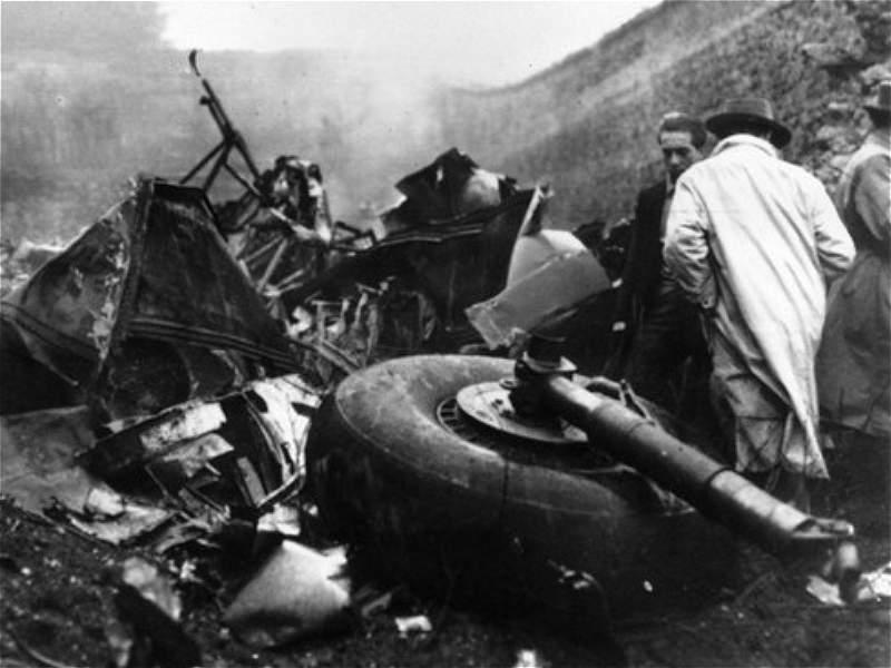 Trágicos accidentes aéreos que conmovieron al mundo del deporte