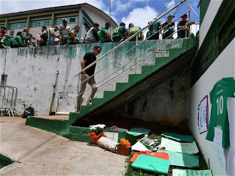 El pueblo del Chapecoense y los homenajes que le ha hecho a sus héroes