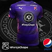 Estas son las camisetas de algunos equipos en honor a Chapecoense
