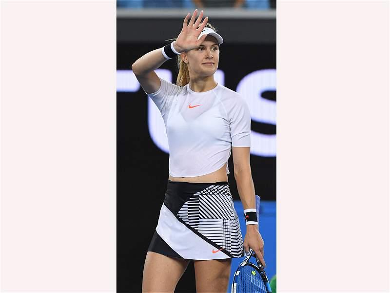 Eugenie Bouchard, la tenista que se roba las miradas en el Abierto de Australia