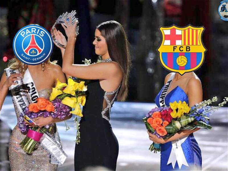 Los mejores memes que dejó la remontada del Barcelona al PSG