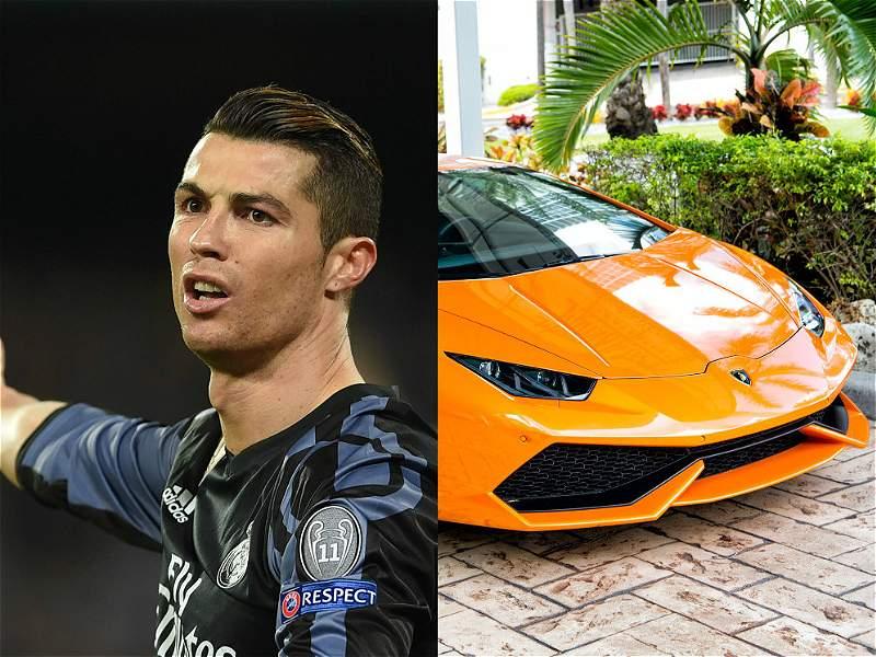 Los lujosos carros de las estrellas del Real Madrid