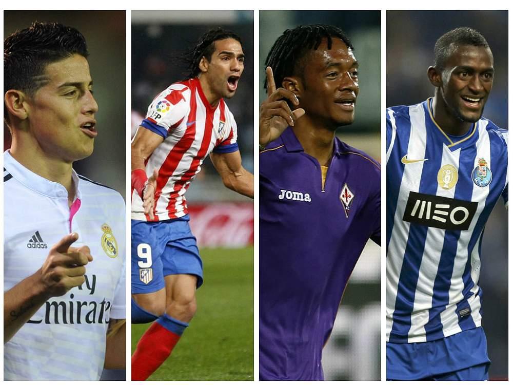 James, Falcao, Cuadrado y Jackson, entre los 100 mejores jugadores del mundo del 2014