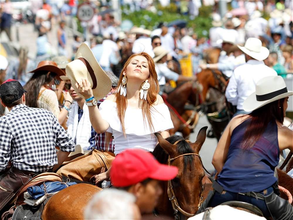 Las mejores imágenes del Desfile de Bienvenida en la Feria de Manizales