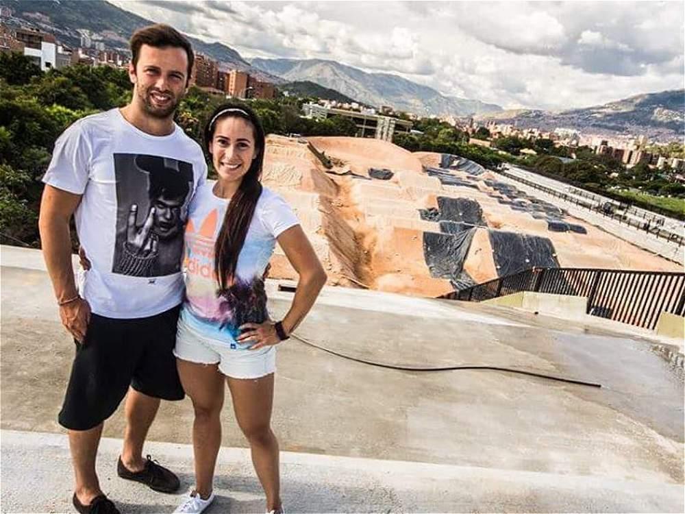 Matrimonio De Mariana Pajon : Fotos mariana pajón se casa con vincent pelluard
