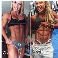 Eleonora Dobrinina, la polémica fisiculturista de '0% grasa corporal'