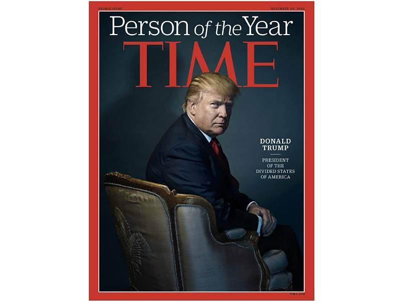 Trump y otras controvertidas figuras elegidas 'persona del año' por 'Time'
