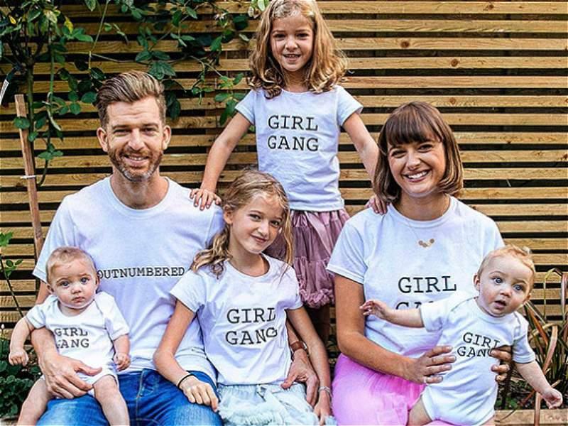 La vida 'desesperada' de un padre de cuatro niñas