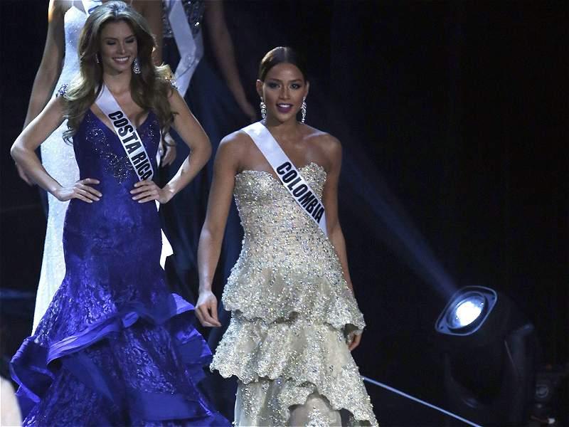 Andrea Tovar, primera princesa en Miss Universo