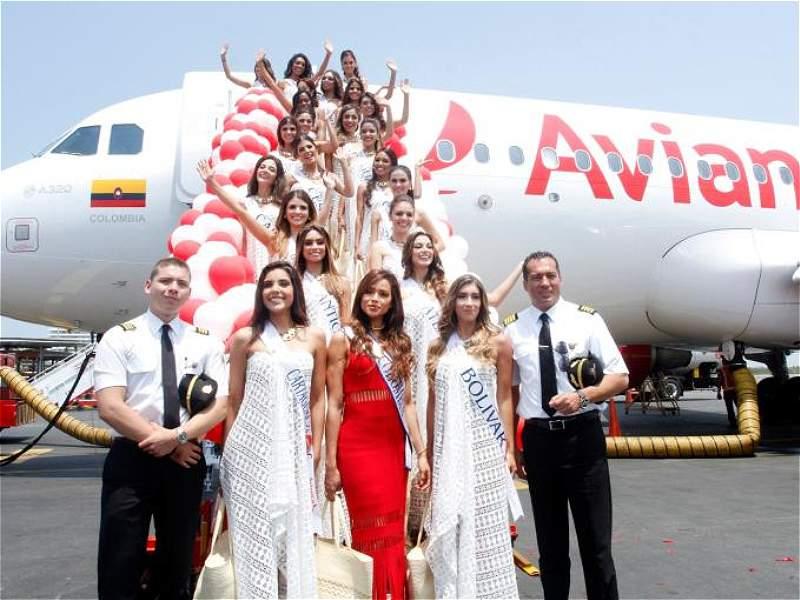 Las candidatas a señorita Colombia ya están en Cartagena