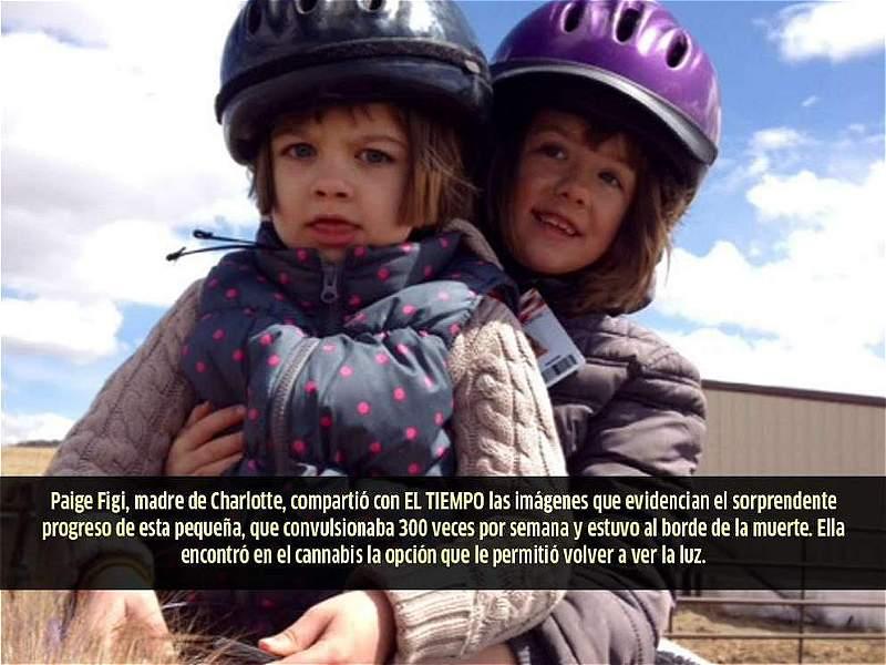 Charlotte Figi, la niña que curó sus convulsiones con aceite de marihuana