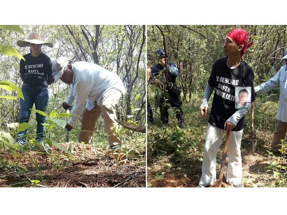 Encuentran en México ocho nuevas fosas que pueden tener cadáveres de los 43 estudiantes