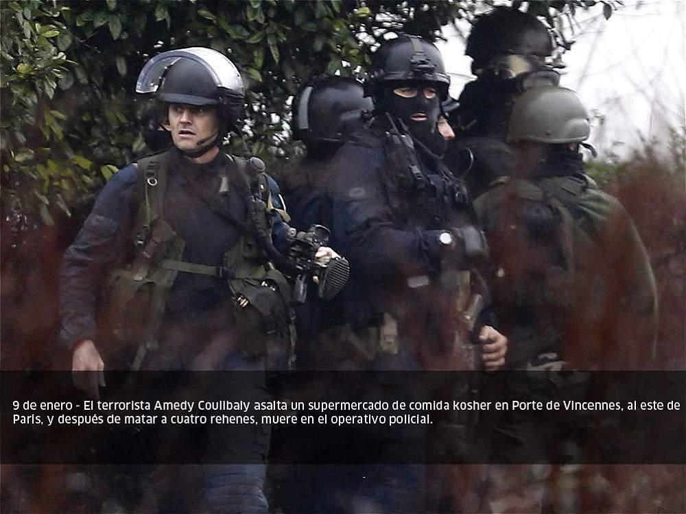 Fotos atentados atribuidos al estado isl mico en el 2015 for El tiempo en paris en enero 2017