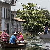En imágenes: las fuertes inundaciones que afectan el Cono Sur
