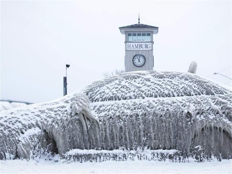 Las impactantes fotos del invierno en el hemisferio norte