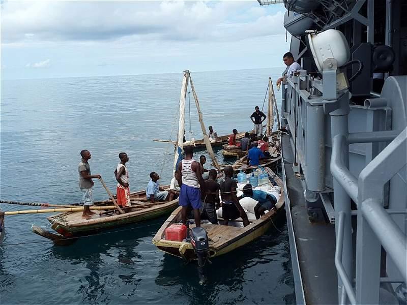 La Misión Humanitaria enviada por Colombia tras el desastroso paso de Matthew por Haití