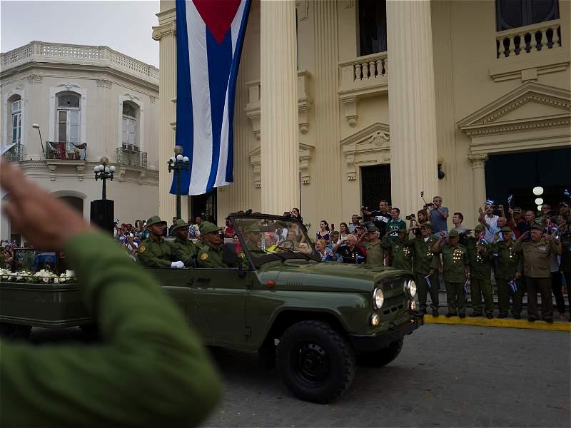 El recorrido de las cenizas de Fidel Castro por Cuba