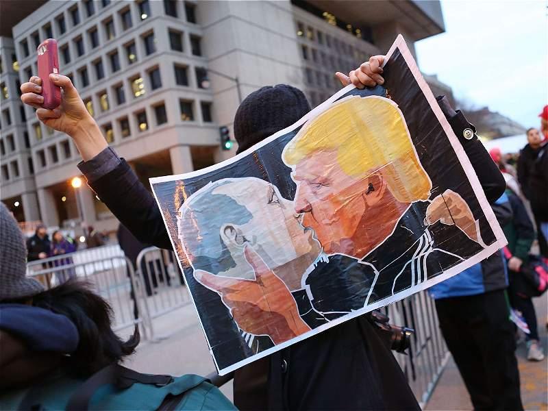 Las protestas en el mundo por la llegada de Trump a la Casa Blanca